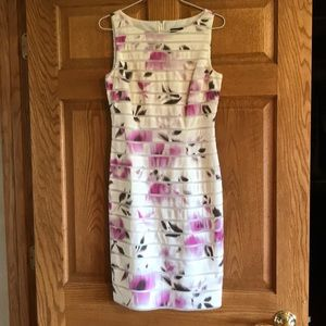 Beautiful Ann Taylor Summer Dress, Fully Lined